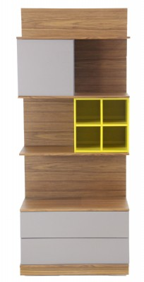 Light Walnut Colored Bookcase