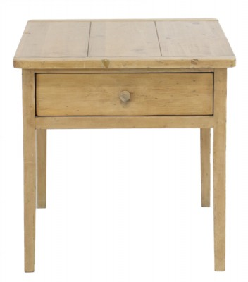 Elden Distressed Pine End Table