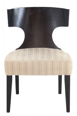 Wooden Framed Upholstered Armchair