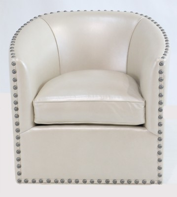 Pearl Finish Club Chair