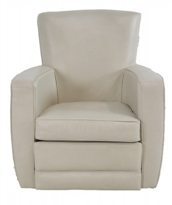 Flagstaff Parchment Swivel Chair