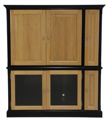 American Transitions Wooden Media Cabinet