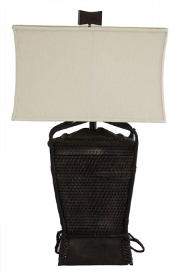 Malampaya Woven Basket Table Lamp