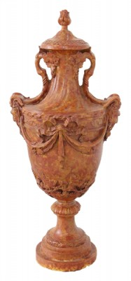Decorative Heavy Resin/Composite Urn