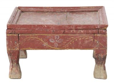 Antique Painted Asian Tea Table