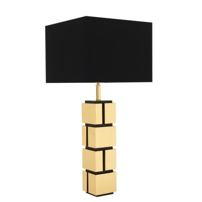 Reynaud Table Lamp With Gold Finish