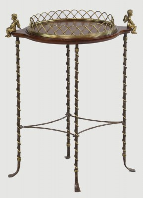 Occasional Ornate WoodenTray Table