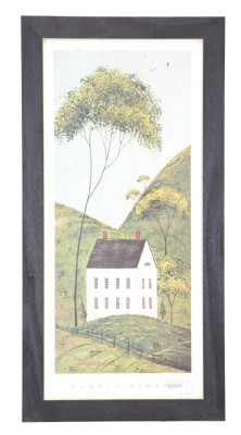 House and Tree Framed Print