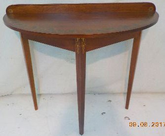 Riverton Half Moon Occasional Table