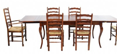 English Reclaimed Wooden Dining Table