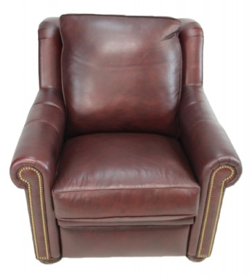 power recliner with articualated headrest