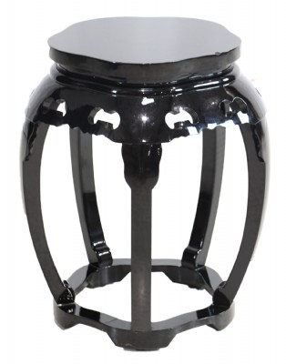 Asian Laquered End Table