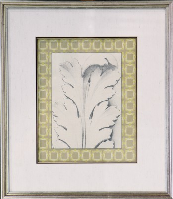 Architectural Leaf  Print