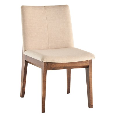 Cream Fabric Dining Chair