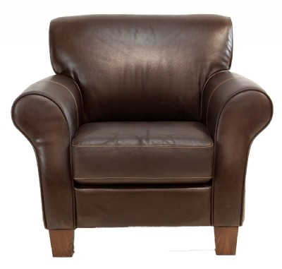 Chocolate Leather Chair