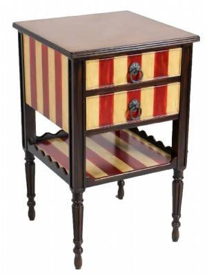 Atelier de Madeleine Painted Side Table