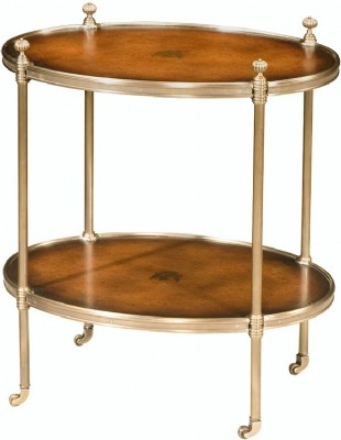 Oval Tiers Side Table