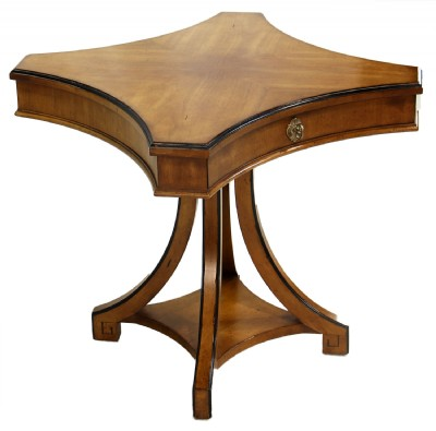 Curvileaner Square Pedestal Table