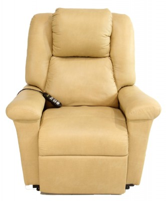 Powerlift Leatherette Recliner