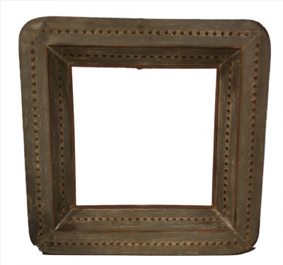 Metal Framed Square Wall Mirror