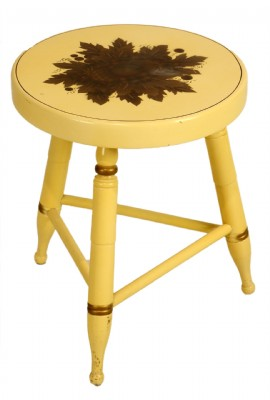 White Stable Stool