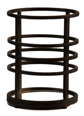 Round Wrought Iron Candle Holder