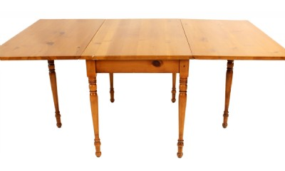 Drop Leaf Dining Table & Four Chairs
