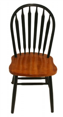 Set of Six Hoopback Spindle Chairs