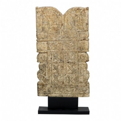 Stone Tablet on Stand