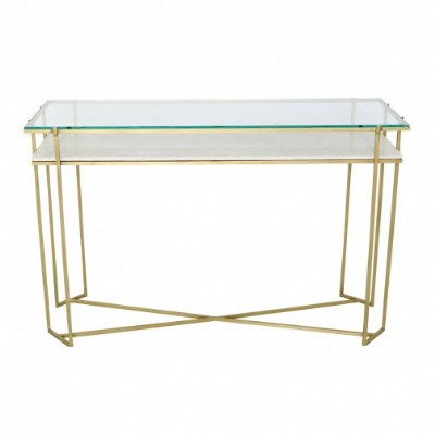 Shine Display Console Table