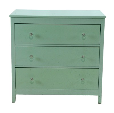 Light Green Painted Chest of Drawers