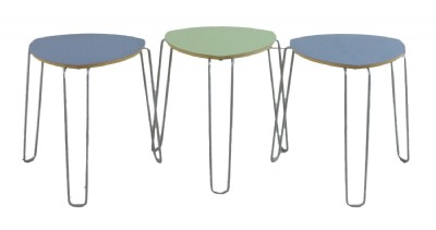 Curved Triangular Top Table