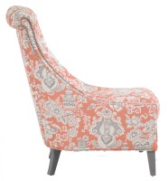 Upholstered Chair with Nailheads