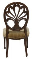 Painted Spider Back Regency Style Side Chair