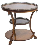 Three Tier Mahogany Table