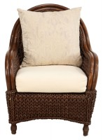 Super Wicker Rattan Accent Chair Pabps2019 Chair Design Images Pabps2019Com