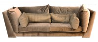 Oversized Mohair Sofa