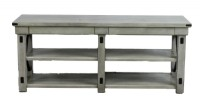 Light Grey Contemporary Console Table